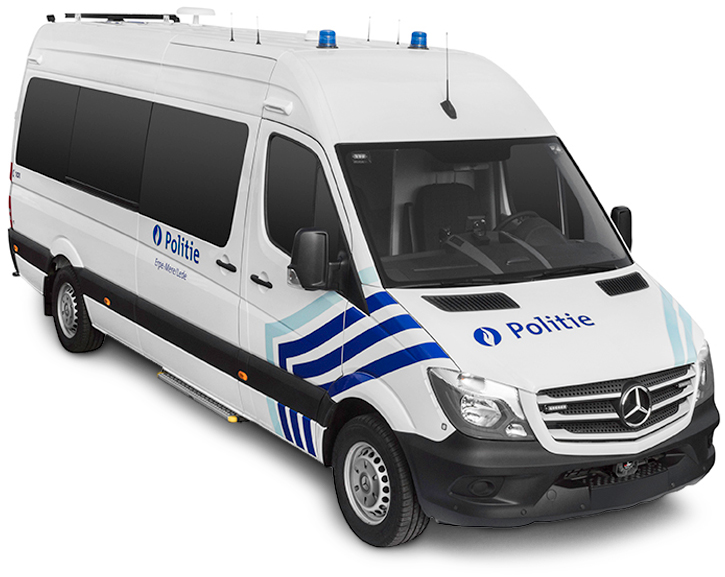 Mastervolt electrical system for Belgium police vehicle
