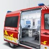 Innovative electrical system for  VW Crafter Special Command Unit